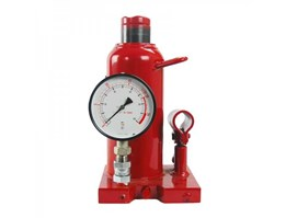 Hydraulic Jack with Pressure Gauge