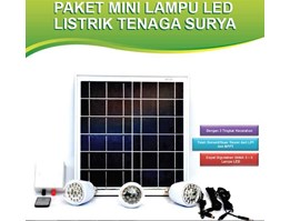 Lampu LED Solar Cell