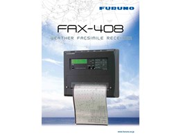 Jual Weather Faximile Receiver FURUNO FAX-408