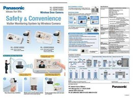 Jual VIDEO DOOR PHONE PANASONIC WIRELESS