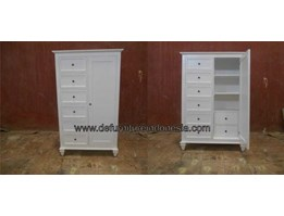 Jual duco furniture, bookcase/ wardrobe, indonesia furniture | CV. DE EF INDONESIA Defurnitureindonesia DFRIBnW- 96