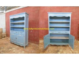 Jual duco furniture, bookcase/ wardrobe, indonesia furniture | CV. DE EF INDONESIA Defurnitureindonesia DFRIBnW- 93