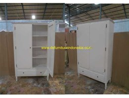 Jual duco furniture, bookcase/ wardrobe, indonesia furniture | CV. DE EF INDONESIA Defurnitureindonesia DFRIBnW- 98