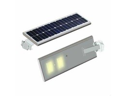 Jual Lampu Jalan Solar Cell ALL IN ONE System, Lampu LED 30 Watt ALL IN ONE System