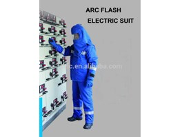 Jual Electric resistant clothing 20 kva / pakaian tahan listrik 20 kva / pakaian listrik / clothes stand electric shock / Head and eyes protection from electric shock / PROTECTIVE COVERALL / Insulating rubber gloves