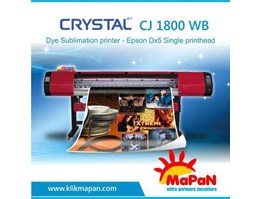 CJ 1800 WB - Dye Sublimation printer - Epson Dx5 Single printhead
