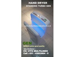 Jual HAND DRYER VERTIKAL STANDING TURBO GEN