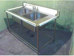 Jual Double Bowl Sink
