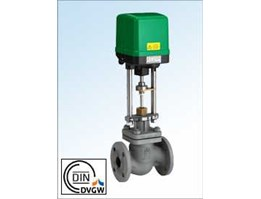 Jual Motorized control valves for mixing and distribution of thermal oil and liquids and gases