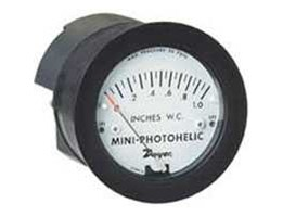 Series MP Mini-Photohelic® Differential Pressure Switch/ Gage Compact, Low Cost Switch/ Gage