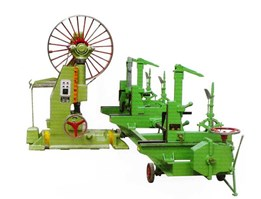 Jual Log Wood Cutting Bandsaw Mills With Feed Carriage