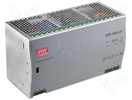 Jual power supply 24VDC 20A, DRP-480-24 MEAN WELL MADE IN TAIWAN