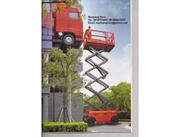 Jual Scissor Lift tangga electric