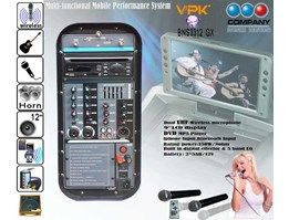 Jual Portable wireless Multi-functional Mobile Performance system BNS-3312 GX