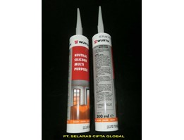 Jual NEUTRAL SILICONE SEALANT WURTH @300 ml