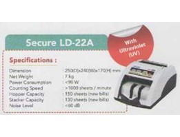 Jual Money Counter Secure LD-22A