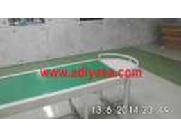 Jual, Buat, Table top chain, Inclined, Wire Mesh Conveyor, PVC Belt