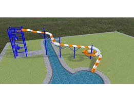 Jual waterslide
