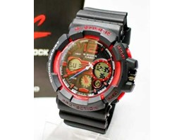 Jual Jam Tangan G Shock New GA150 Black Red