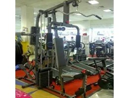 PERALATAN FITNESS Home Gym 2 sisi + Stepper (Menerima COD)