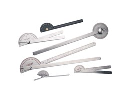 Stainless Steel Goniometer Set, 6 Piece Stainless Steel Goniometer Set