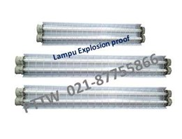 Jual Distributor Lampu 2x36 Watt Explosion Proof  FPFB Indonesia
