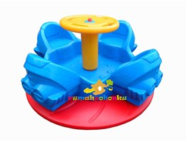 Outdoor Playground Merry Go Round LLDPE