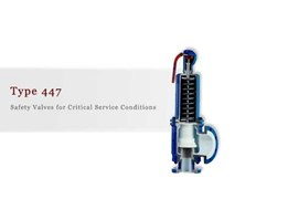 Safety Valves For Critical Service Conditions