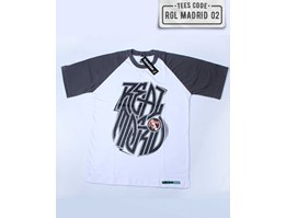 Kaos Distro Bola Real Madrid