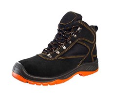 Jual Safety Shoe DR OSHA President Ankle Boot Suede Rubber-PU 9238 Original