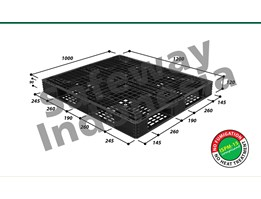 Jual Pallet Plastik One-Way Series N4-1210SL Safeway