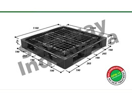Jual Pallet Plastik One-Way Series N4-1111SL2 Safeway