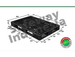 Jual Pallet Plastik One-Way Series N4-1208SL Safeway
