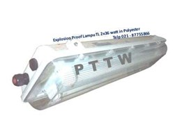 Jual Distributor Lampu Explosionproof BYS 2x36 FPFB Indonesia
