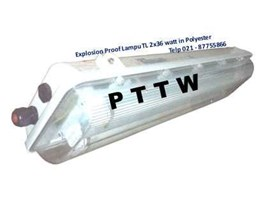 Jual Distributor Lampu 1x36 Explosion Proof FPFB HRLM Indonesia