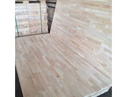 Jual Rubber wood / kayu karet finger joint laminated fjl