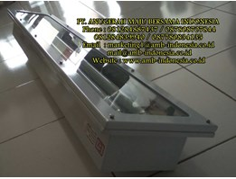 Lampu TL GRP Glass Alluminium Stainless Steel Ex Proof