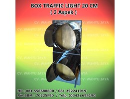 Box Traffic Light / Warning Light diameter 20cm (2 Aspek)