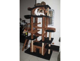mainan kucing/CAT SCRATCHER/cat tree/cat condo/cat scratcher