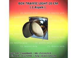 Box Traffic Light / Warning Light diameter 20cm (1 Aspek)