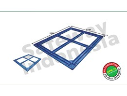 Jual Pallet Plastik Top Frame Series TF-1211 Safeway