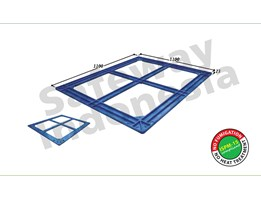 Jual Pallet Plastik Top Frame Series TF-1111 Safeway