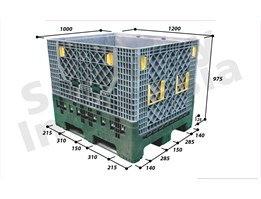 Jual Foldable Container tipe FLCA-1210