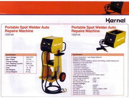 Jual SPOT WELDING AUTO REPAIR MACHINE PORTABLE KERNEL KL-155014A