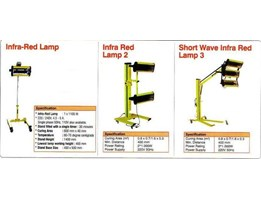 Jual INFRARED LAMP + STAND FOR BODY REPAIR