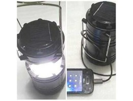 Lampu Camping Solarcell
