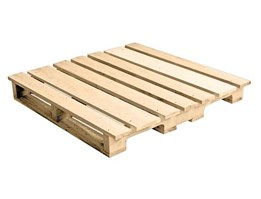 Jual BMR 4 Way Entry Single Side With Wing 16.5 kg (Wooden Pallet)