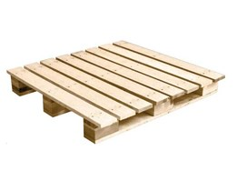 Jual BMR 4 Way Entry Single Side With Wing 19kg (Wooden Pallet)