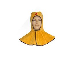 Jual Welding Hood GoldenYellow Leather RDM-114007G