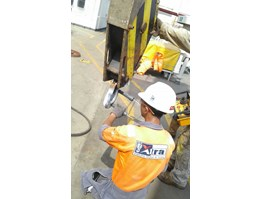 Jual Rigging gears inspection,Load Test (water bag) & wire rope socketing